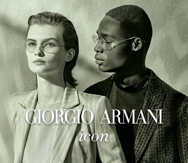 Giorgio Armani exclusive image