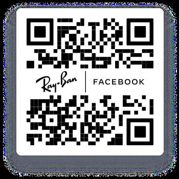 QR code to download Facebook View App